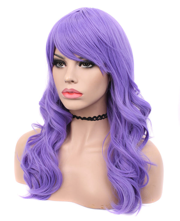 Violet Purple Classic Cosplay Glueless Non-Lace Wigs - Imstylewigs