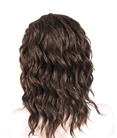 CHESTNUT BROWN CURL SHORT WIGS IM1768