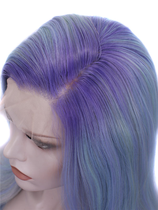 Ombre Purple Straight Wigs NH2-C164