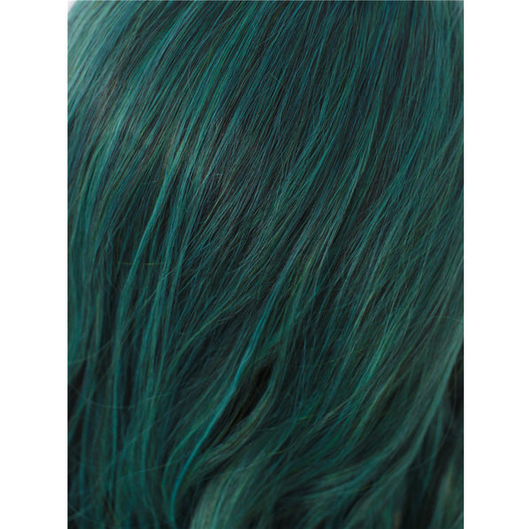 Green Synthetic Lace Front Wigs - Imstylewigs