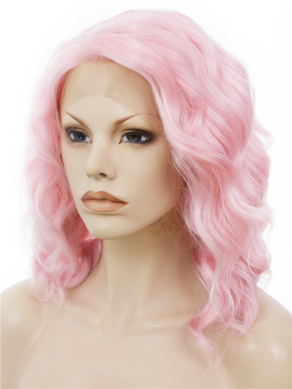 Bob Style Synthetic Glueless Lace Front Wigs - Imstylewigs