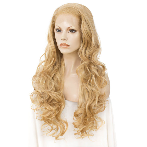 Blonde Natural Wavy Lace Front Wig IM1227613