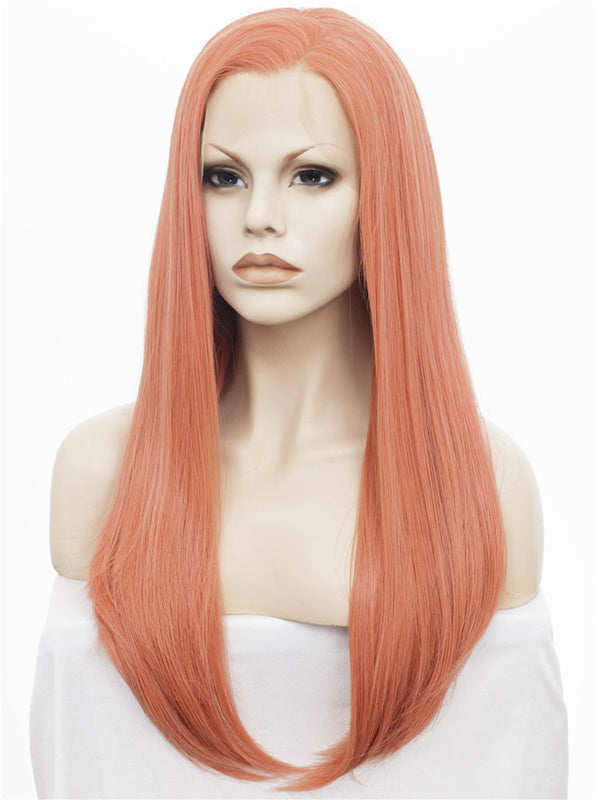 Synthetic Glueless Straight Lace Front Wigs - Imstylewigs