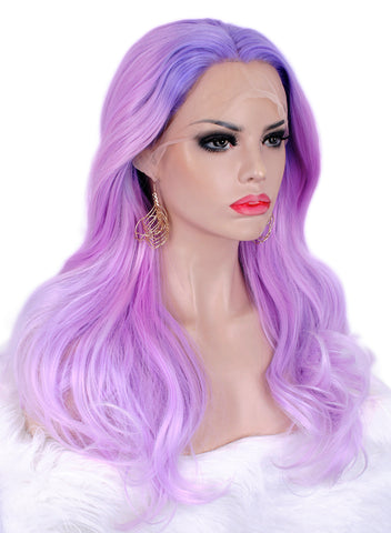 Dreamy Purple Ombre Color Lace Front Wigs IM35C150