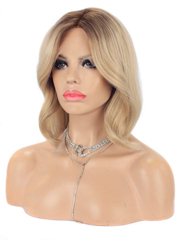 New Style Blonde Bob Lace Front Wigs Autumn-Winter