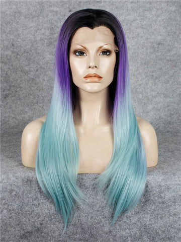 Glueless Synthetic Long Straight Lace Front Wigs - Imstylewigs