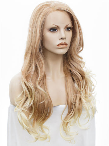 Honey Milk Tea Wavy Lace Wig IM12105