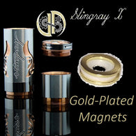 Gold Plated magnets only for Stingray X clone or authentic