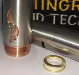 (2) Two Gold Plated magnets only for Stingray X clone or authentic