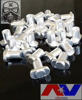 "Silver Plated AV Button ""T"" Contact for Clone Avid Lyfe Able & Timekeeper"