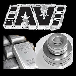 Silver Plated rare earth magnets AV Mods, Buttons, Able, Avid Lyfe