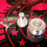 Comp Lyfe SILVER-PLATED Contact & Button for Authentic or Clone Complyfe Devices