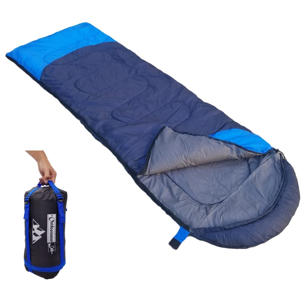OutdoorsmnaLab Lightweight Sleeping Bag (32F)