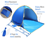 OutdoorsmanLab Automatic Pop Up Beach Tent
