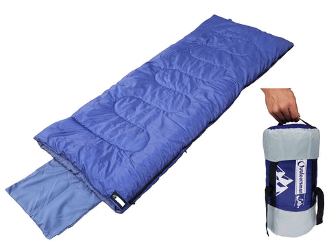 Outdoorsman Lab Lightweight Sleeping Bag w/ Pillowcase