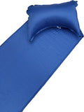 Outdoorsman Lab Lightweight Self-Inflating Sleeping Pad with Self-Inflating Pillow