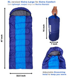 OutdoorsmanLab XL Lightweight Sleeping Bag (47/38F)