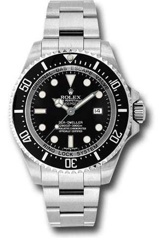 116660 Rolex DeepSea Sea-Dweller Ceramic Steel Black Dial 44mm 2017