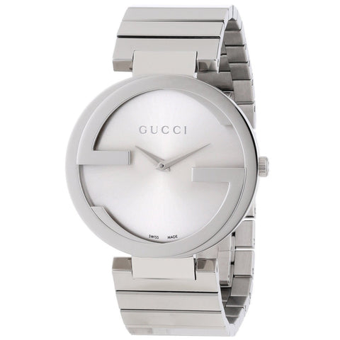 Gucci Watch 20mm / Silver / Stainless Steel Gucci Women's 'Interlocking-G' Stainless Steel Watch