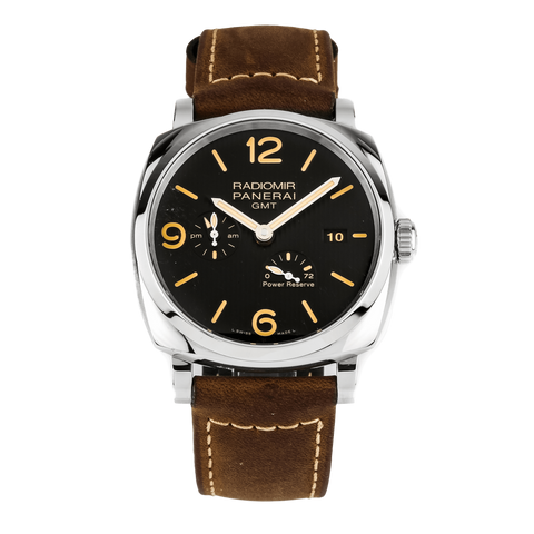 Panerai Pre-owned Watch 45mm / Black PAM00658 | Panerai Radiomir 1940 3 Days GMT Power Reserve Auto S-Series