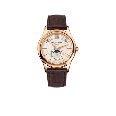 Patek Philippe Patek Philippe Watch 40mm / Opaline White Patek Philippe 5205R Annual Calendar Moonphase Complications