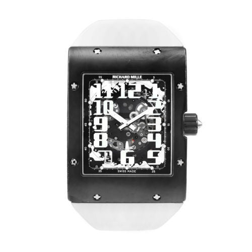 Richard Mille Pre-owned Watch 40mm / Skeleton Richard Mille RM016/HE Skeleton Dial Titanium Automatic Extra Strap