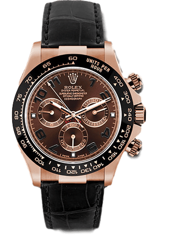 Rolex Rolex Watch 40mm / Chocolate 116515 ♛ Rolex ♛Daytona 18K Rose Gold 40mm Ceramic Bezel Mocha Dial