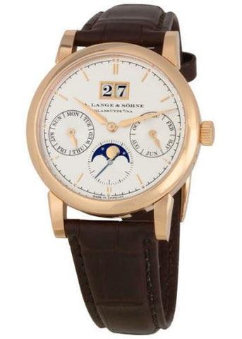 A. Lange & Söhne Saxonia Annual Calendar 18k Rose Gold Moonphase 38mm