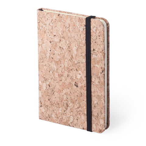 libreta corcho natural