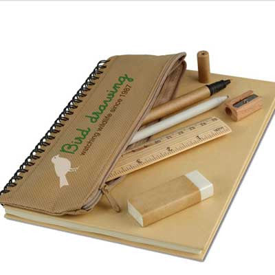 Libreta reciclable set