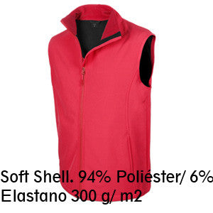 Chaleco impermeable elastano