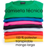Camiseta manga larga