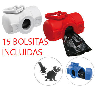 Dispensador higiene canina