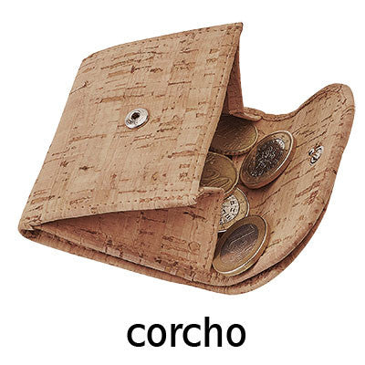 Cartera monedero corcho