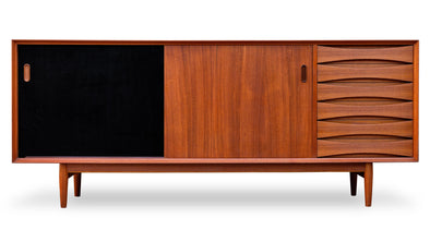 Arne Vodder for Sibast Model 29 Teak Sideboard -  Former Modern