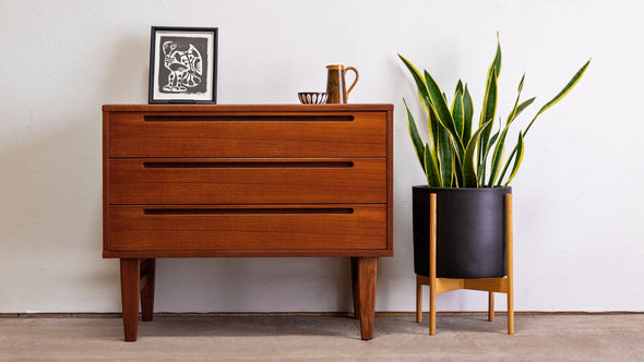Nils Jonsson HJN Swedish Teak Chest -  Former Modern