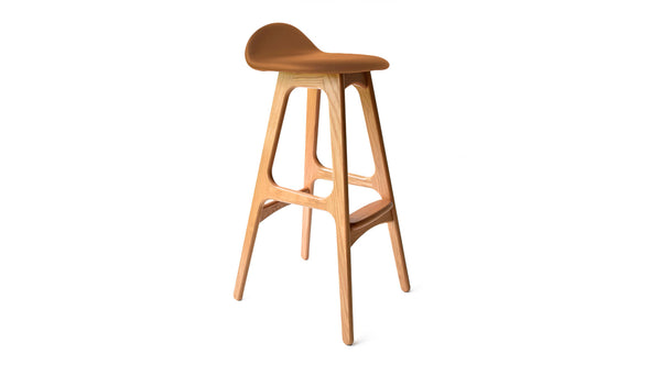 Erik Buch Model 61 Oak Stool -  Former Modern