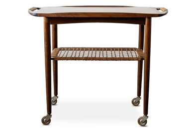 Danish Modern Cocktail Cart by Selig -  Former Modern