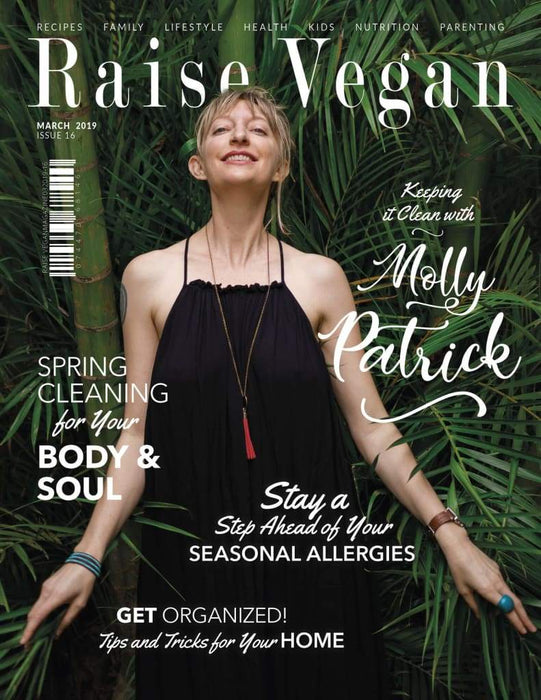 Raise Vegan Print Magazine Yearly Subscription Magazine