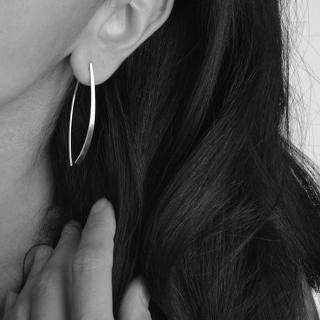 Long D Dock earrings