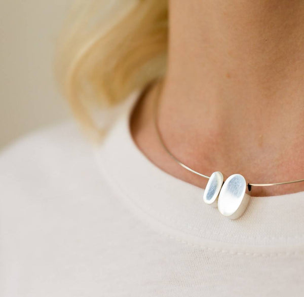 Two Pebbles Necklace