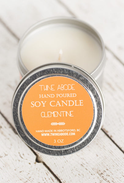 Clementine Soy Candle