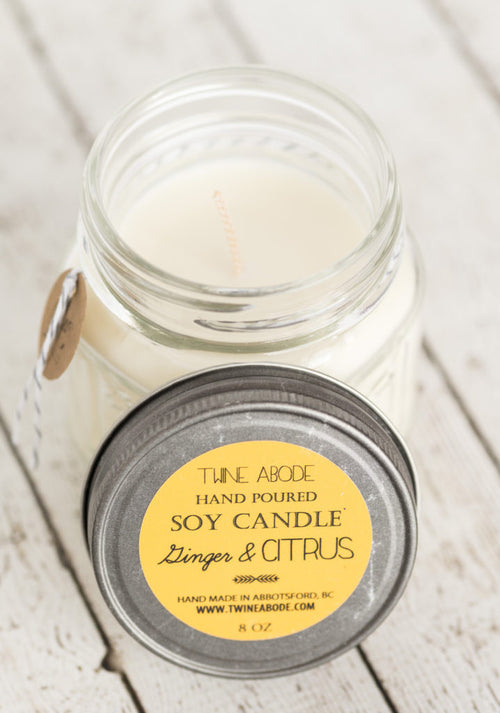 Ginger & Citrus Soy Candle