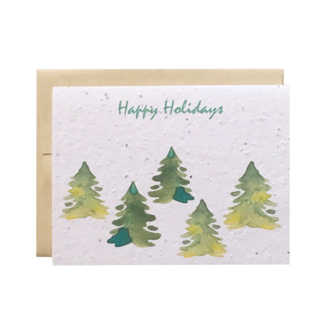 Holiday Plantable Cards