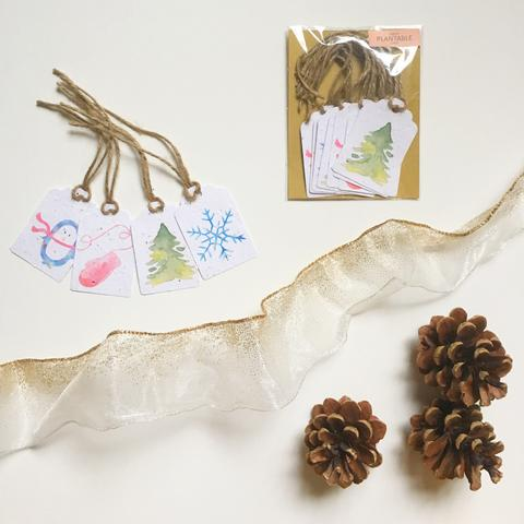 Let it Snow - Holiday Gift Tags