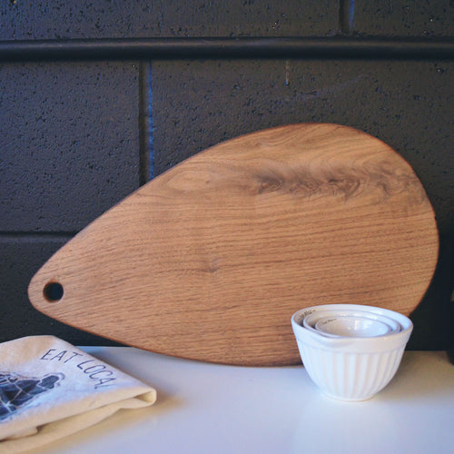 Walnut Teardrop Board