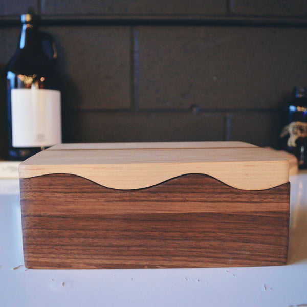 Two-Toned Wooden Box