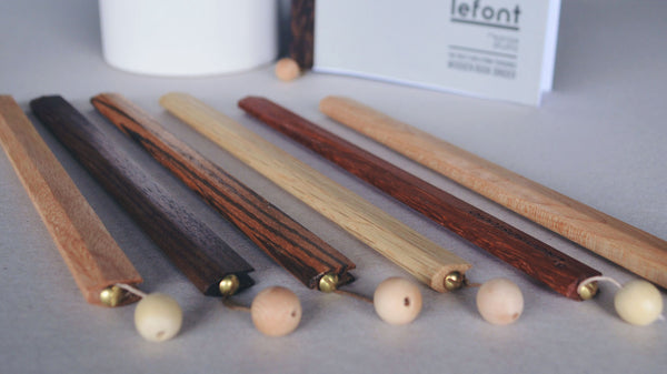 Lefont - Customizable Wooden Book Binder