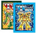 """T""Bots Morphing Robots Coloring & Activity Book - Green Robot"