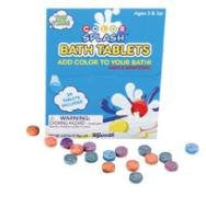 10 Packs of Color Splash Fizzy Tablets for Splash Time